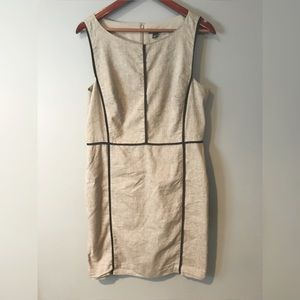 Ann Taylor Taupe dress | size 12 |